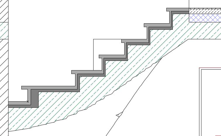 Treppenschnitt